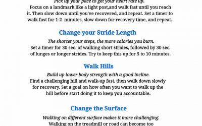 4 Walking for Weightloss Tips!