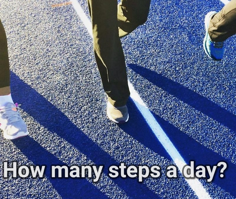 How many steps a day?