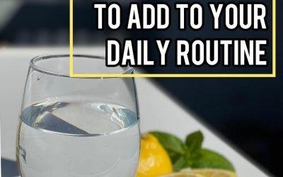 5 easy daily detox rituals!