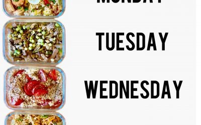 4 Lunch Meal Prep Ideas