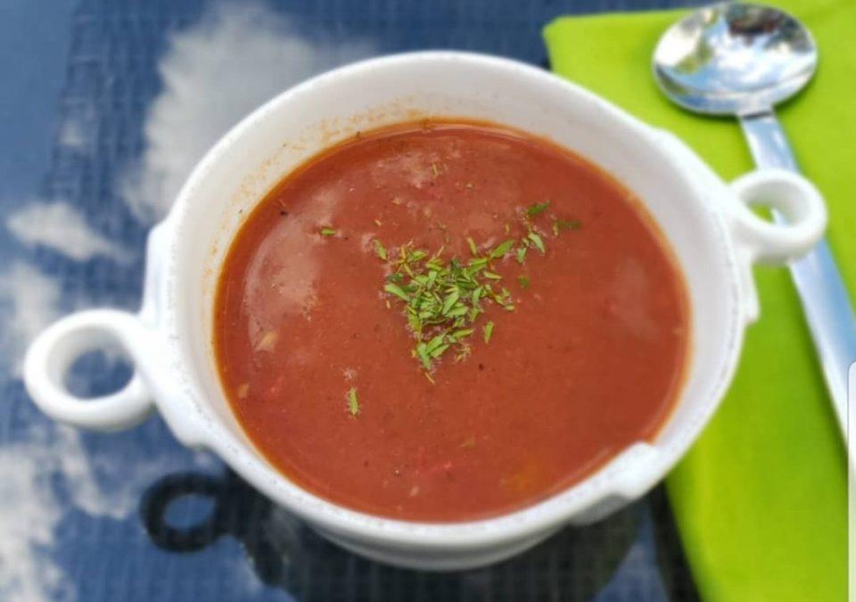 Gazpacho soup!