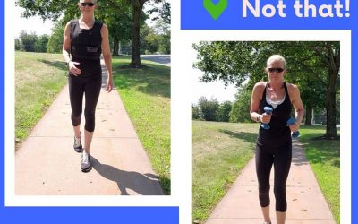 Benefits of a weighted vest for walking!