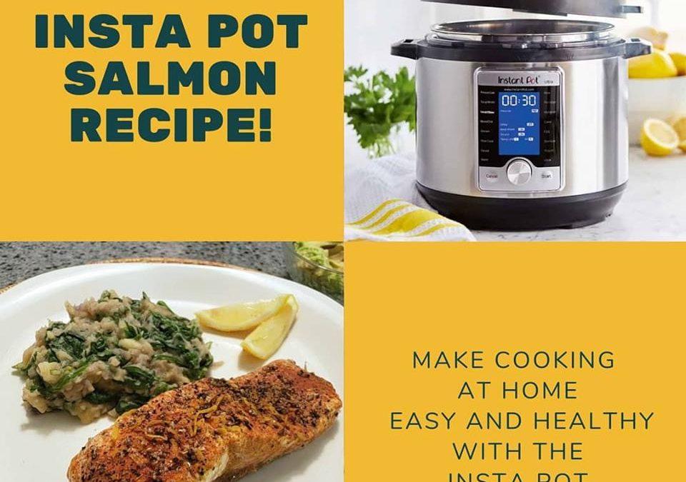 Insta pot salmon recipe!