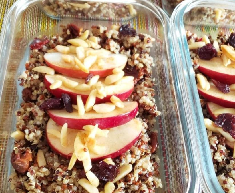 Toasted Almond and Apple Quinoa!