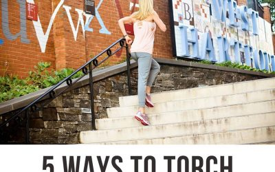 5 Ways to torch 100 calories!