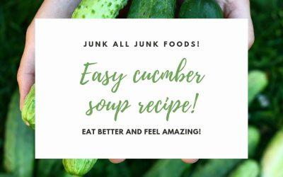 Cucumber soup!