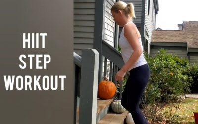 HIIT STEP WORKOUT!