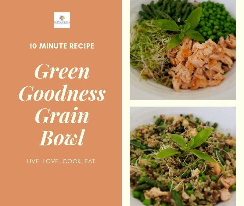 Green Goodness Grain Bowl!