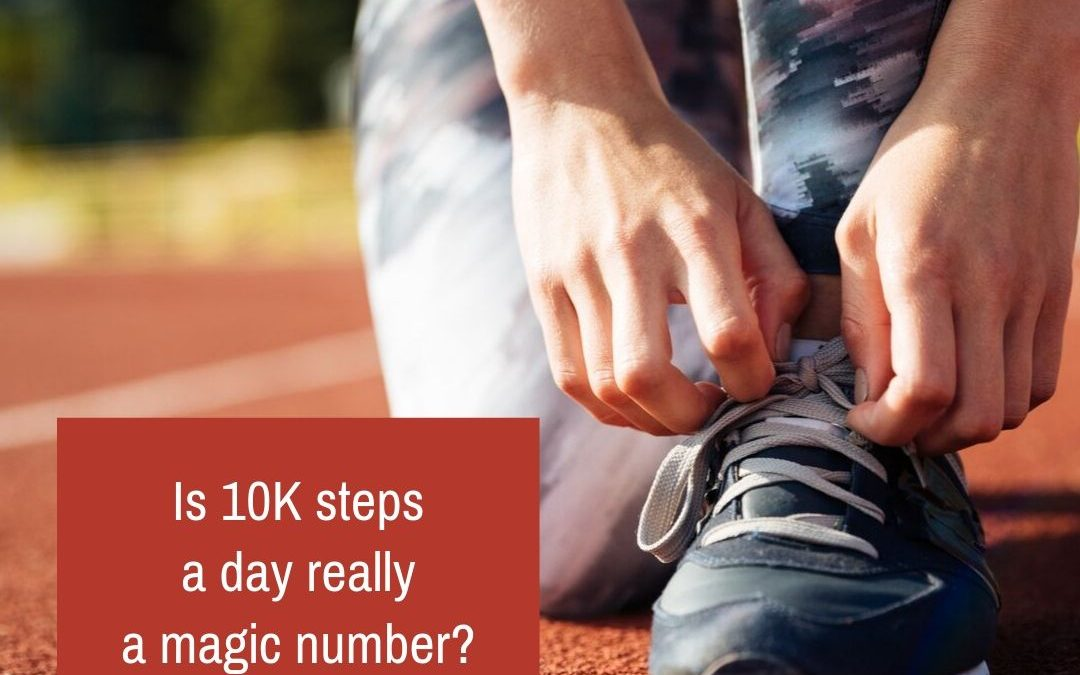 Is 10K steps a day really a magic number?