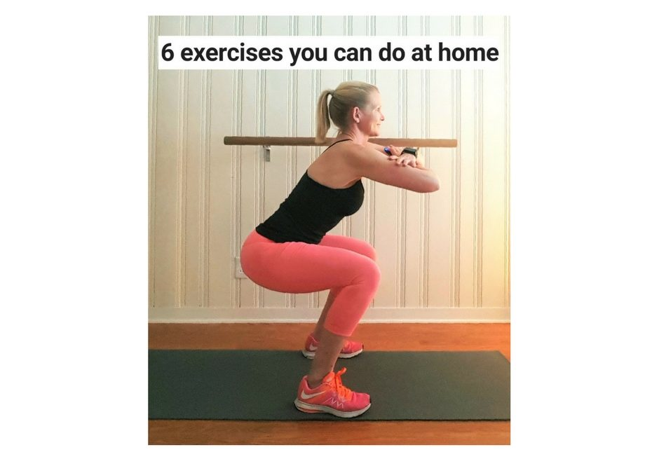 6 exercises to do at home