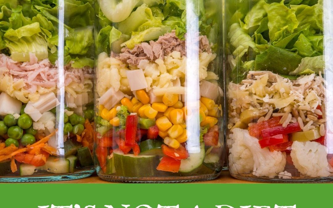 How to built a salad in a jar!