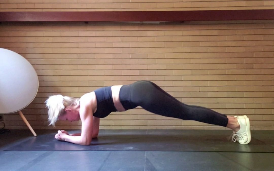 Core workout!