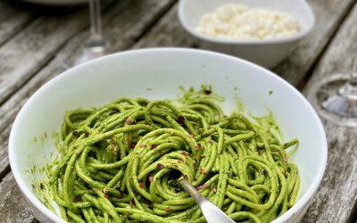 Green Spaghetti Recipe